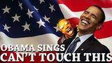Obama sings Can't Touch This